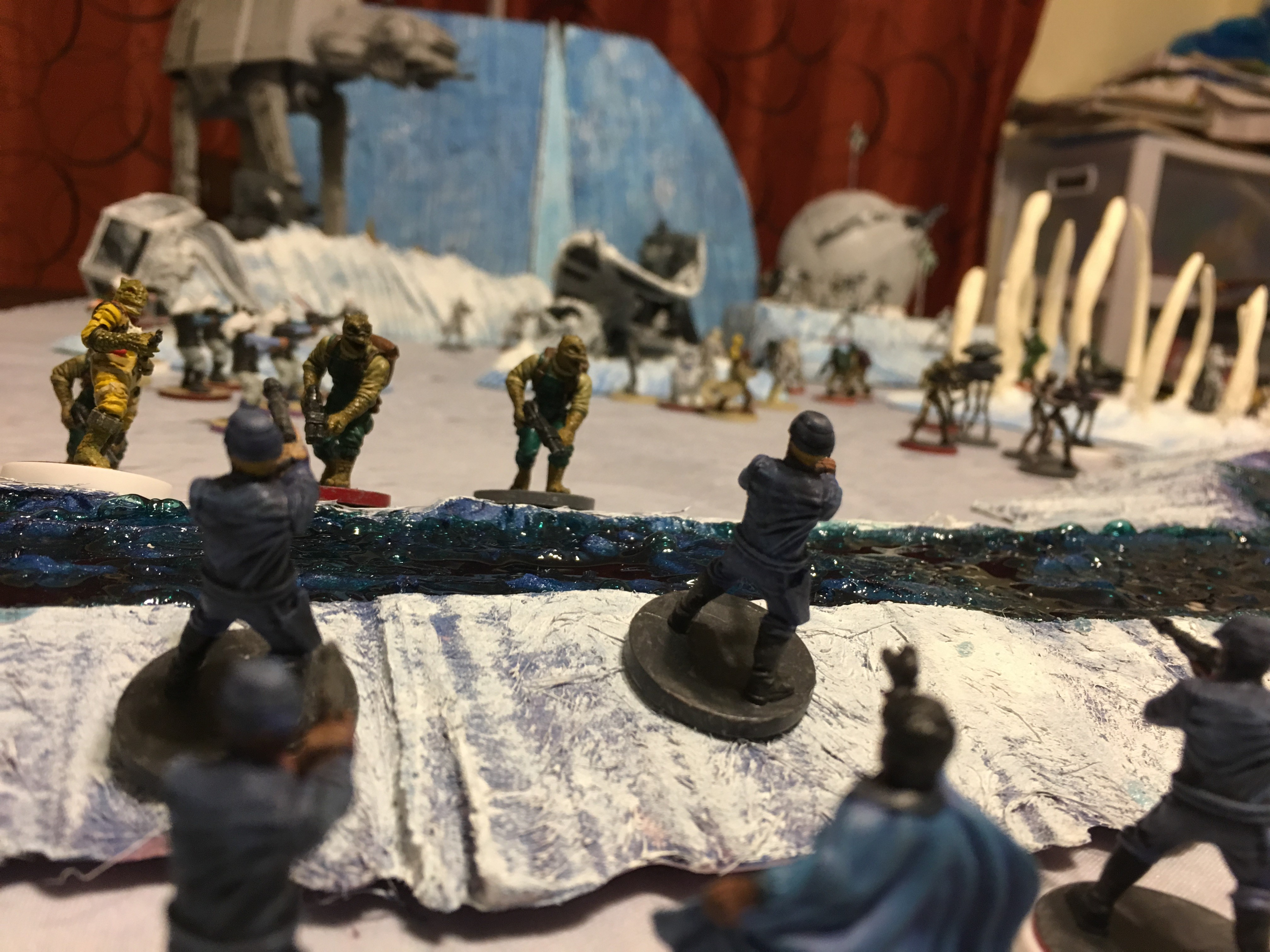 Hoth Terrain for Legion! – Star Wars and Tabletop News X Wing Game